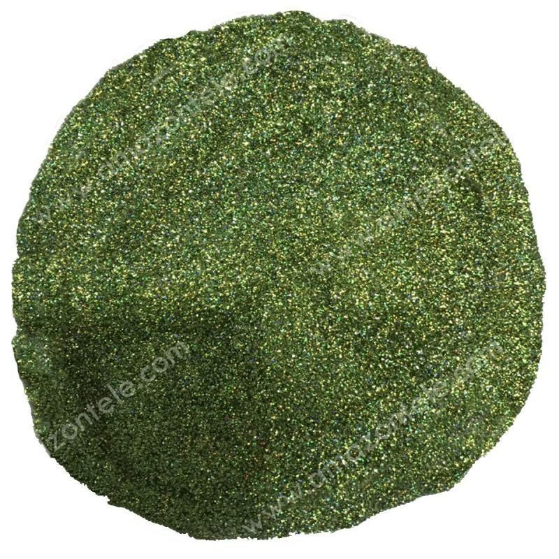 گلیتر سبز هفت رنگ
