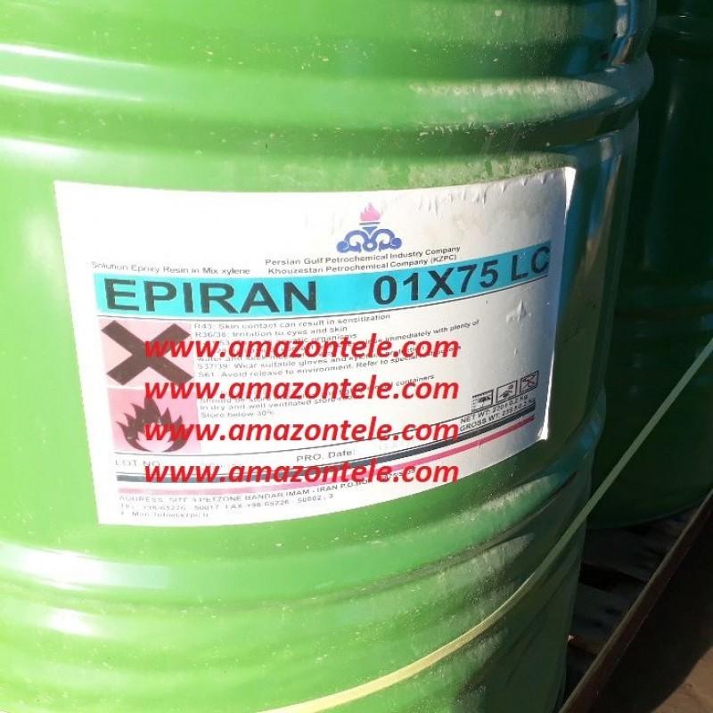 رزین اپوکسی E01 مخصوص رنگسازی