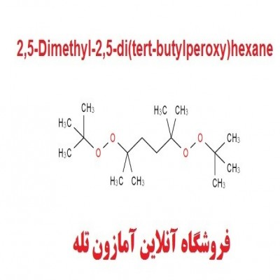 هگزان پراکسید Luperox 101 - 2,5 dimethyl 2,5 di(tert-butylperoxy) hexane