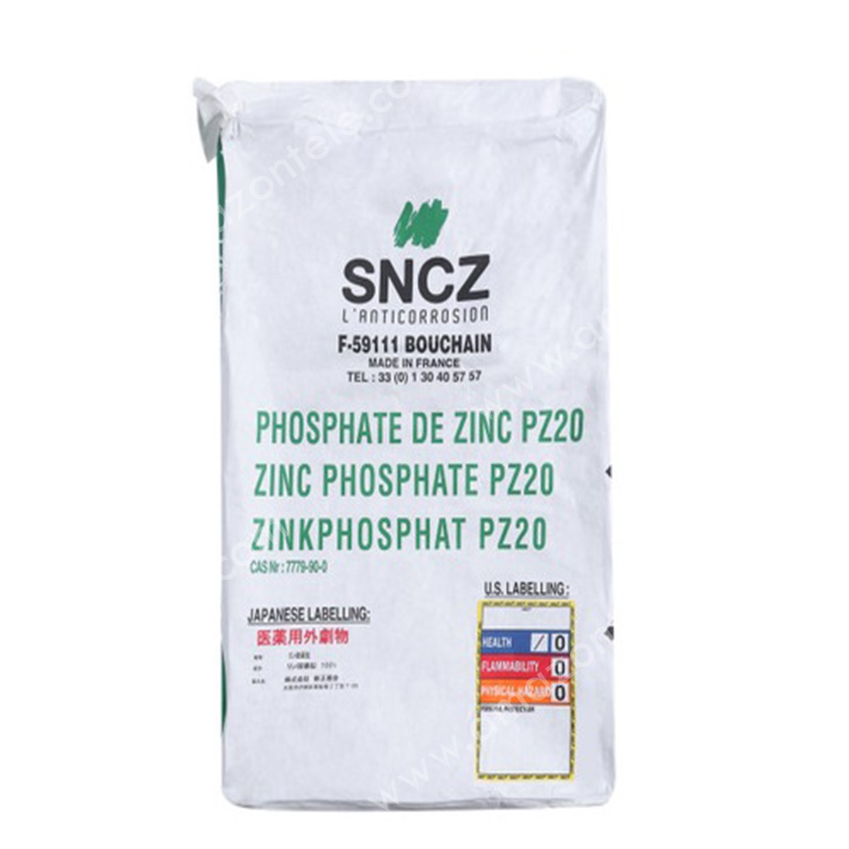 پیگمنت ضد خوردگی زینک فسفات - Zinc Phosphate