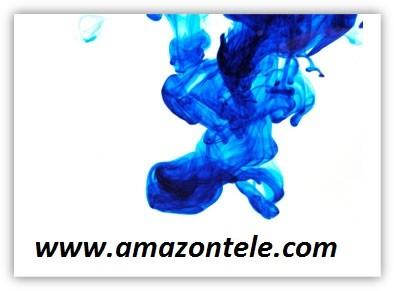 رنگ آبی شیشه شور