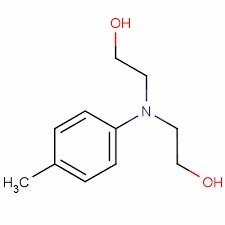 شتاب دهنده آمینی دی هیدورکسی اتیل پارا تولوئیدین