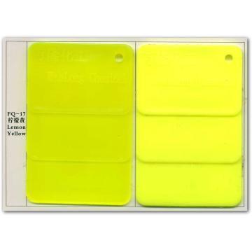 پیگمنت فلورسنت زرد