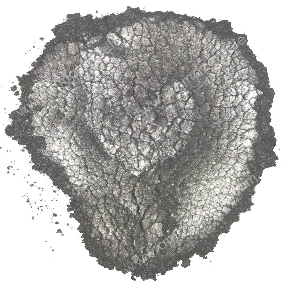 پیگمنت صدفی سربی (نقره ای خاکستری)